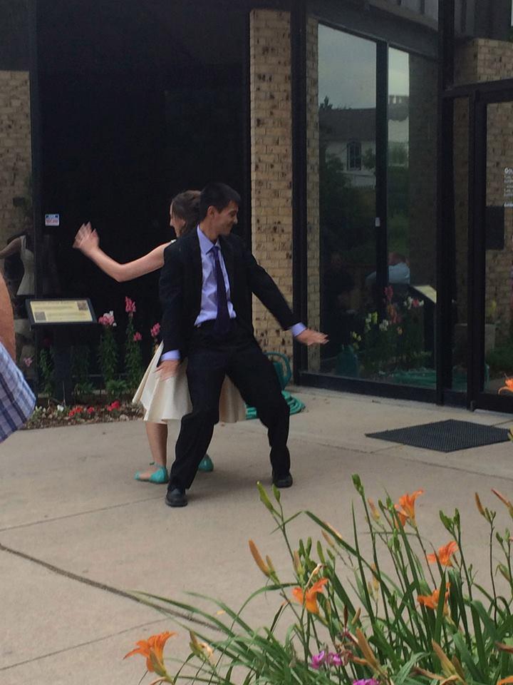 ken dancing
